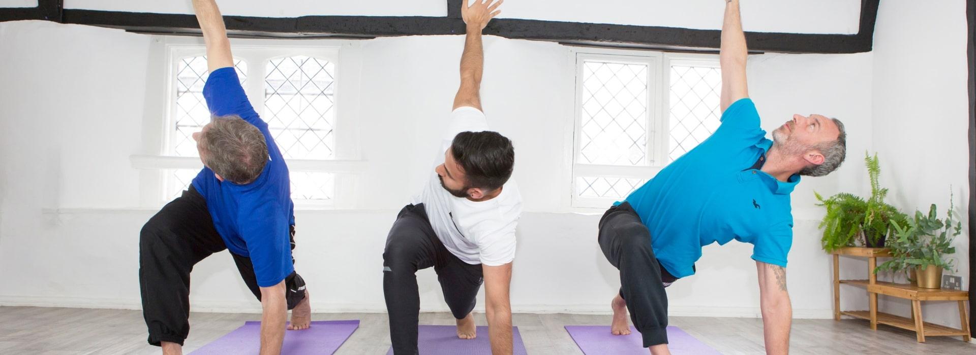 Yoga for men Braunton North Devon
